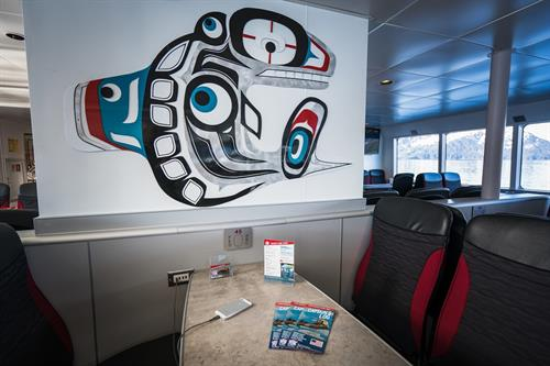 Phillips Cruises & Tours, M/V Klondike Express, USB Charging Stations