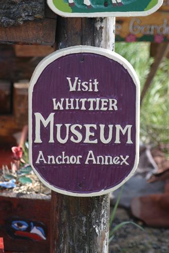 Prince William Sound Museum, Whittier, Alaska  Photo Credit: Lisa K.