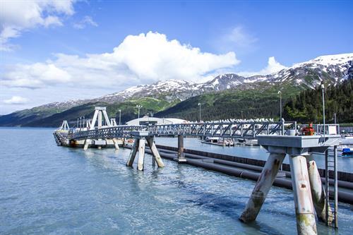 Whittier Cruise Ship Dock, Whittier, Alaska  Photo Credit: Matt W.