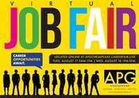 Virtual Job Fair continues through 9/16