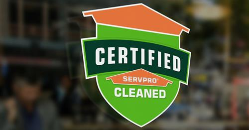 Our NEW Certified: SERVPRO Cleaned program for businesses. ???Consult ???Clean ???Certify