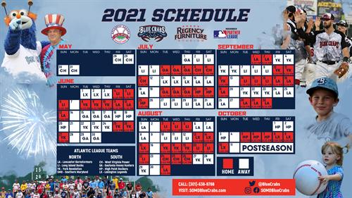 2021 Schedule Now Available!