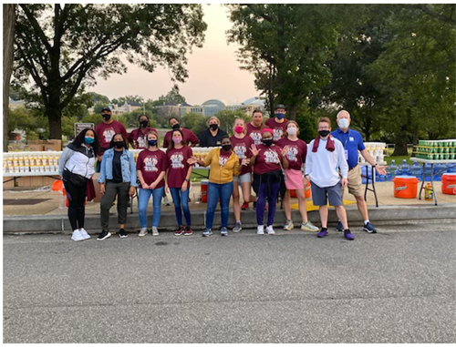 We love volunteering at the annual Credit Union Cherry Blossom 10K Event that was held in September this year! The proceeds from the race support the Children's Miracle Network (CMN) Hospitals, under the umbrella of Credit Unions for kids (CMN is the charity of choice for the national credit union movement).
