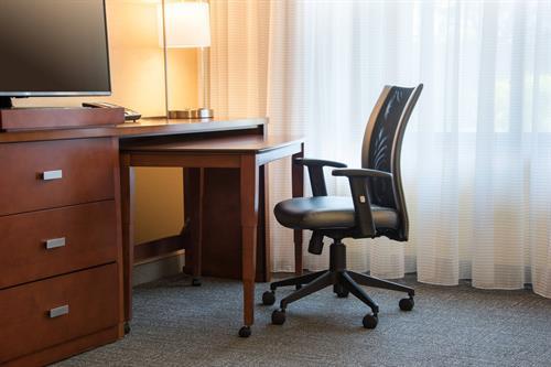 Guest Room- Work Area