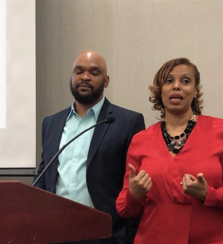 Life Coaches Nikki & Jason Speaking at Identity Crisis Conference