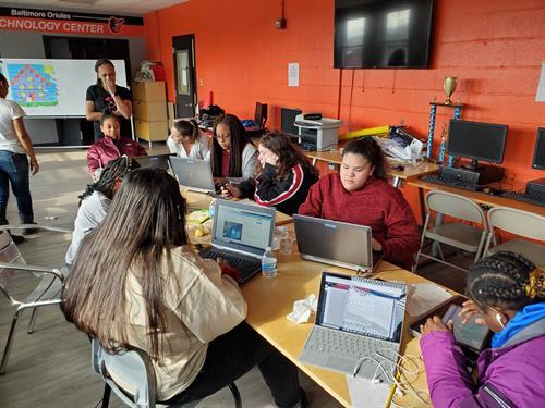 Maryland Leaders Who Code Program