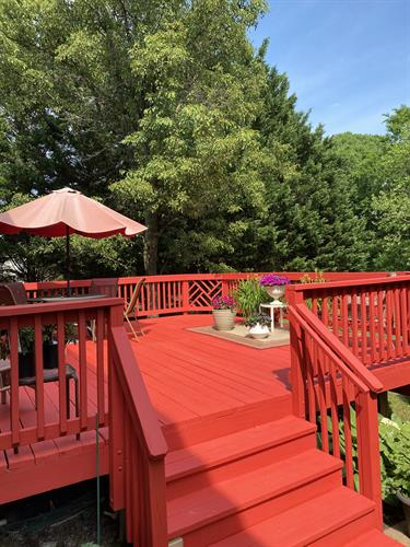 Get Spring and Summer ready with a Fresh Coat on your deck!