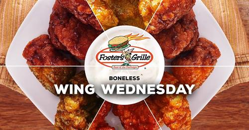 Boneless Wing Wednesday!
