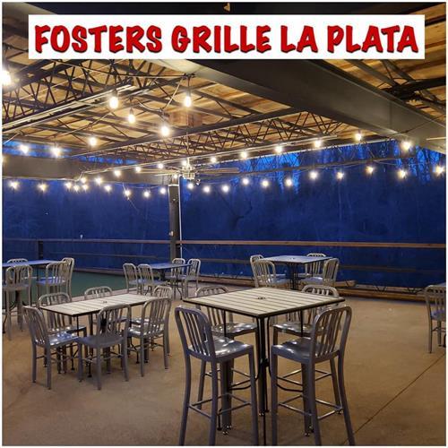 Foster's La Plata outside patio