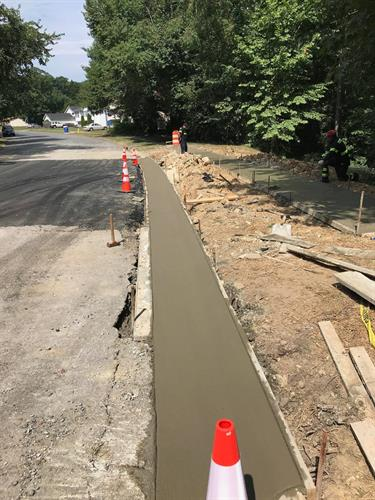 Town of Indian Head Sidewalk Completed
