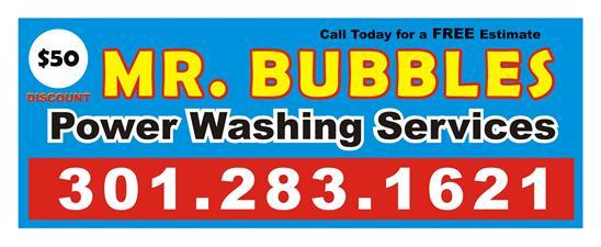 Mr. Bubbles Power Washing of Maryland