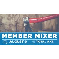 Member Mixer at Total Axe