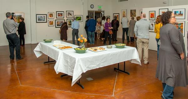 Art, food, wine and fun: all can be found at Pacific Art League's monthly First Friday events!