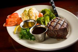 Surf & Turf - Grilled Filet Mignon & Western Australian Lobster Tail