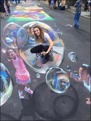 YCS hosts Italian Street Painting Expo during Palo Alto Art Festival