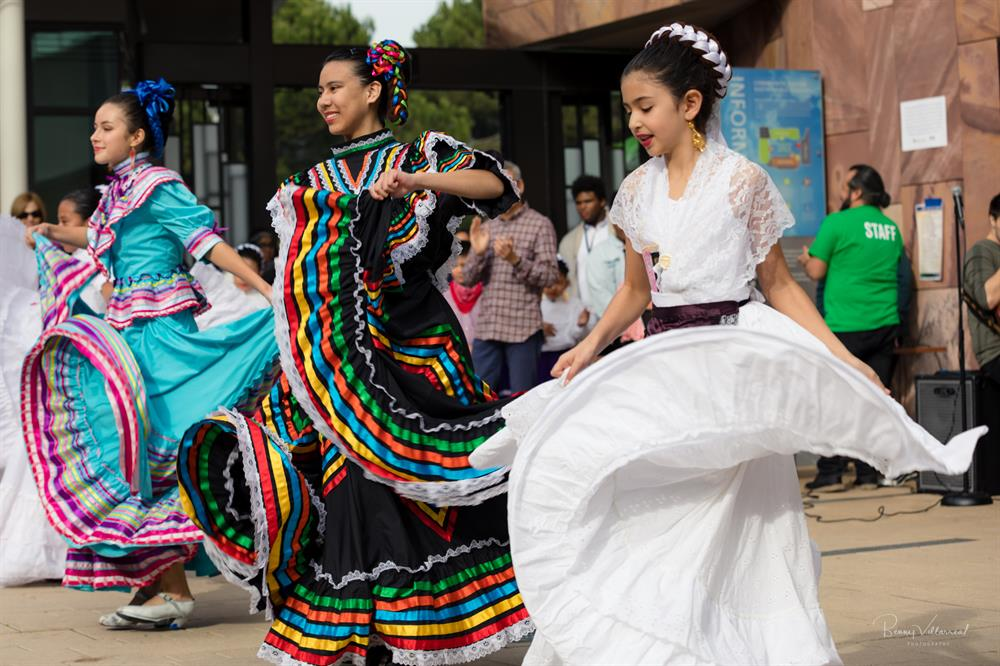 Raices de Mexico performers at 2018 MLK Day event.