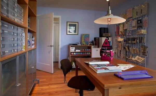 A space for personal passion  - a hobby and sewing room in Saratoga