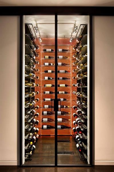 Wine Cellar in Los Altos Hills