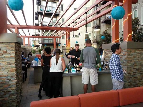 Residents continue to hire Bay Area Bartenders for their community events.