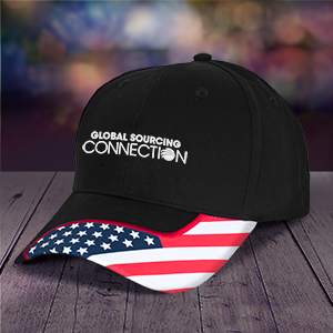 Patriotic Flag Cap - Learn more at www.gloso.com/headwear