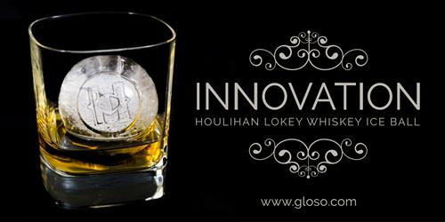 Houlihan Lokey Custom Ice Whiskey Ball