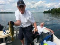 Fishing w/ Dad & Mom on Big St. Germain Lake