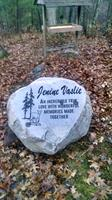 Boulders can be used to memorialize a family member right in your back yard