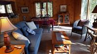 Living area on main level