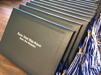 Graduation diplomas are ready!