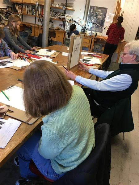 Drawing Class at EFC