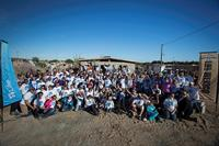 Families helping families, LifeVantage distributors building houses in Mexico