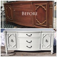 French Country Credenza