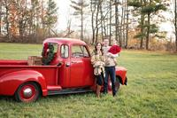 Red Truck Holiday Limited Edition Sessions by White Wave Photography