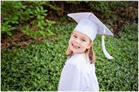 Pre-School & Kindergarten Cap & Gown Portrait Sessions