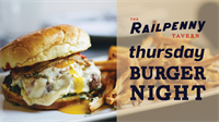 Burger Night at The Railpenny