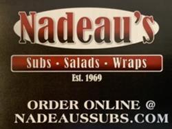 Nadeau's Subs Salads Wraps - Exeter