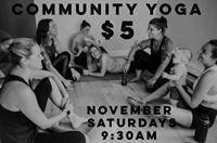 $5 Community Saturdays at Positive Vibes