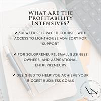 Profitability Intensives