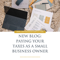 Paying Your Taxes as a Small Business Owner