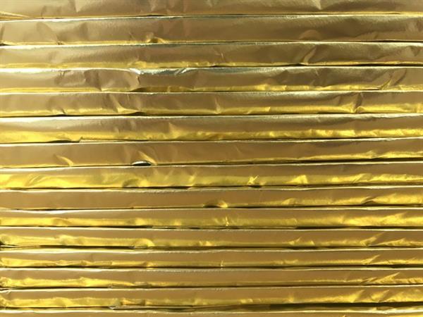 we hand-wrap each bar in foil