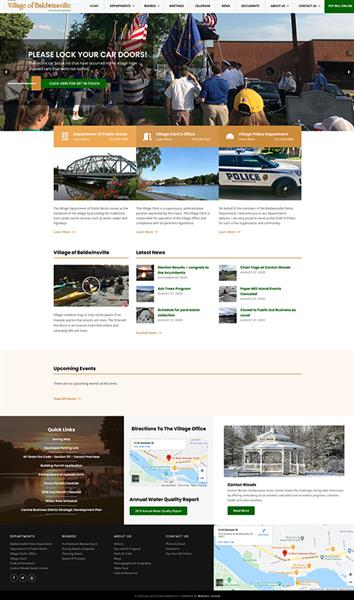 Redesigned Web Site