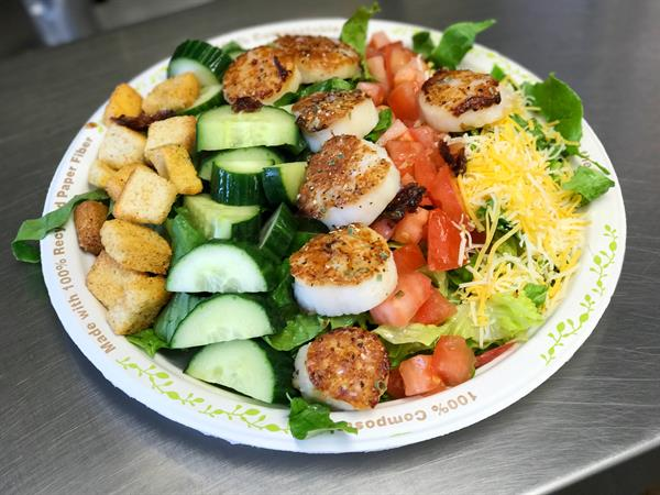 Garden Scallop Salad