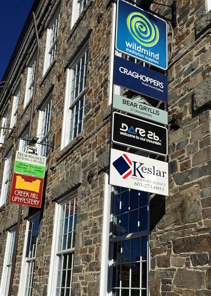 Keslar Insurance Building Exterior Sign
