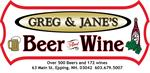 Greg & Jane's Beer & Wine