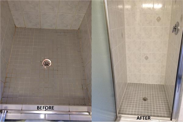 Recent Epping NH Shower Restoration Job