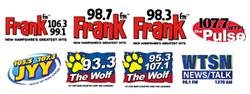 Binnie Media/Seacoast  - ''FRANK FM'' 98.7FM WBYY & NEWS/TALK/SPORTS 98.1 FM & AM 1270 WTSN plus More