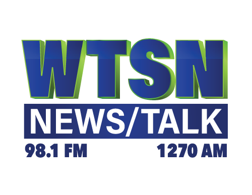 "98.1 FM & 1270 AM WTSN (part of the ""Pulse of NH"" radio network of radio stations)"