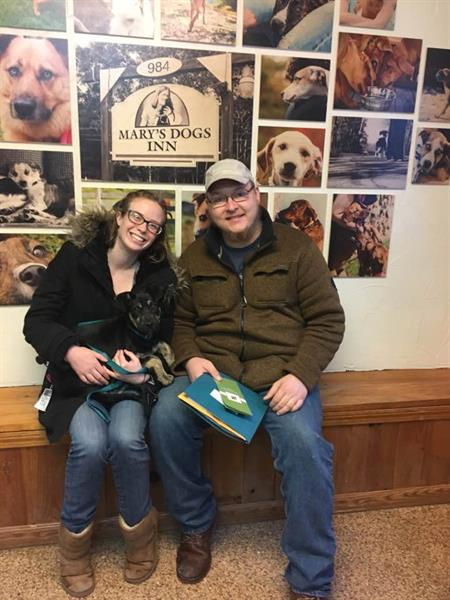 A fantastic couple and wonderful dog owners!