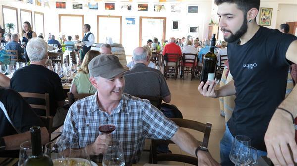 Wine tasting - Gambino Winery, Sicily - Italy