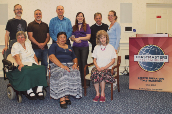 Some of the Exeter Speak Ups club members, as of fall 2017.